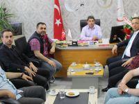 Türk Eğitim Sen'den ilçe sağlık müdürüne ziyaret