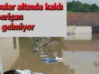 Aşırı yağmur imalathaneyi su altında bıraktı
