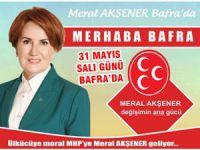 Meral Akşener Bafra'ya geliyor