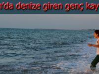 Alaçam'da denize giren genç kayboldu