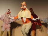 Gürcistan devlet tiyatrosu Bafra'da gösteri yaptı