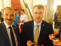 Kırcalı'dan Meclise Bafra dondurması