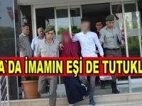 Bafra'da FETÖ operasyonunda  imamın eşi tutuklandı