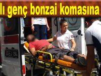 Bafra'da 26 yaşındaki şahıs bonzai komasına girdi