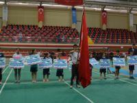 Badminton Süper Lig müsabakaları Bafra'da başladı