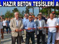 EFTAL Beton'dan görkemli açılış