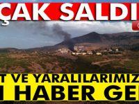 Tunceli'de çatışma: 1 şehit, 3 yaralı