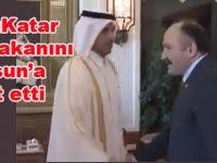 Erhan Usta Katar Başbakanını Samsun'a davet etti