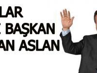 Dualar eski başkan Hasan Aslan için