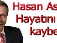Eski Başkan Hasan Aslan hayatını kaybetti