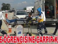 Bafra`da kaza 1 yaralı