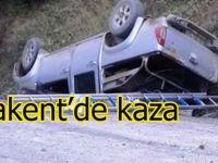 Yakakent'de kaza 2 yaralı