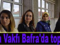 Tema Vakfı Bafra'da toplandı