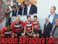 Protokolden Bafraspora tam destek
