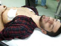 Samsun'da bıçaklı saldırıya uğrayan genç hastanelik oldu.