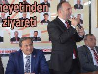 CHP heyeti Bafra ilçe teşkilatını ziyaret etti