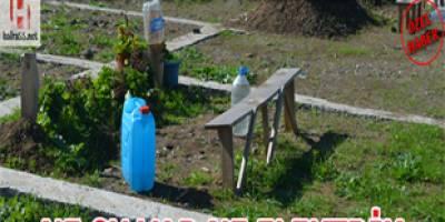 Bafra'da yeni mezarlığın ne yolu var ne suyu