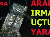 Bafra'da bir araba ırmağa uçtu 3 yaralı
