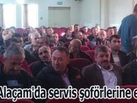 Alaçam'da servis şoförlerine eğitim