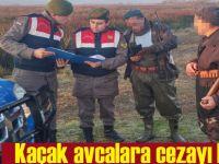 Kaçak avcılara suç üstü