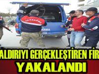 Saldırgan yakalanarak gözaltına alındı