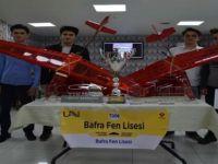 Bafra Fen Lisesi öğrencileri uluslararası TUBİTAK yarışmasında.