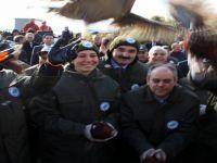 Bakan Eroğlu ve Kılıç 200 sülünü doğaya saldı