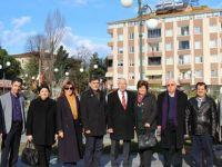Balkan Türk heyetinden Alaçam ziyareti