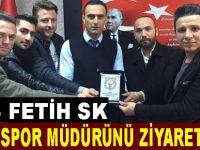 1453 Fetih SK İlçe Spor Müdürünü ziyaret etti