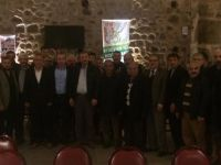MHP'de ilçe başkanları toplantıları devam ediyor.