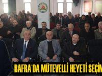 Bafra`da mütevelli heyet üyeliği seçimi yapıldı