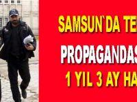 İnşaat işçisine terör propagandası suçundan 1 yıl 3 ay hapis