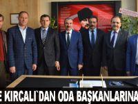 Vekil Kırcalı Ve Başkan Şahin'den Yeni Kooperatife ziyaret