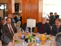 Bafra'da Muhtarla ile İstişare Toplantısı Yapıldı