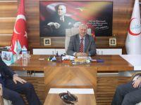 AK Parti Samsun Milletvekili Fuat Köktaş, Samsun Kamu Hastaneleri Birliği'ni ziyaret etti.