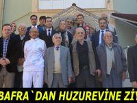 Medi Bafra Hastanesi`nden huzurevine ziyaret