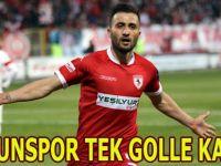 Samsunspor Manisa deplasmanından 3 puan aldı