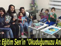 """Bafra Türk Eğitim Sen'in """"Okuduğumuzu Anlatıyoruz""""  Etkinliğinde Tema 23 Nisandı"""