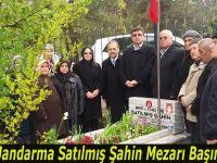 Şehit Jandarma Satılmış Şahin Mezarı Başında Anıldı