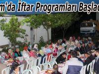 Alaçam'da İftar Programları Başladı