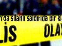 Samsun'da silahlı saldırıda bir kişi öldü