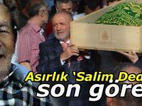 Asırlık 'Salim Dede'ye son görev