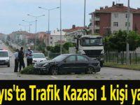 19 Mayıs'ta Trafik Kazası 1 kişi yaralandı