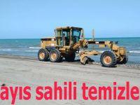 19 Mayıs sahili temizleniyor