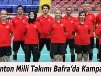 Badminton Milli Takımı Bafra'da Kampa Girdi