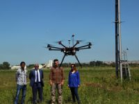 """""""Drone""""lar tarım için uçuruluyor"""