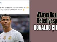 """Atakum Belediyespor`da """"Ronaldo"""" çılgınlığı"""