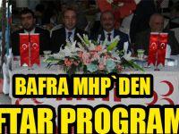 MHP İlçe teşkilatı iftar yemeğinde buluştu