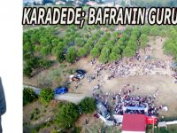 KARADEDE; BAFRANIN GURURU OLDU