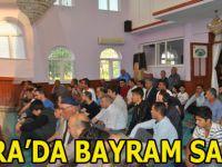 Bafra'da Ramazan Bayramında Camiler Doldu Taştı